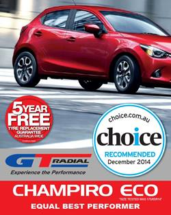GT Radial Champiro ECO Choice Tyre Test