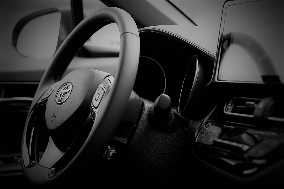 Toyota C-HR cockpit left-hand drive version