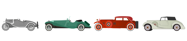 Classic Sports Car styles