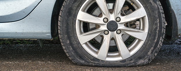 Flat tyres are frustrating, ask us about a puncture repair now