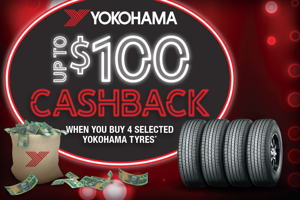 Yokohama Up To $100 Cashback