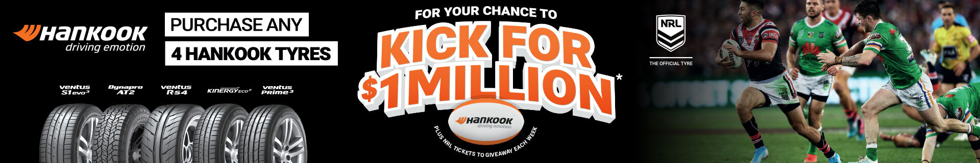 Kick for $1 Million with Hankook