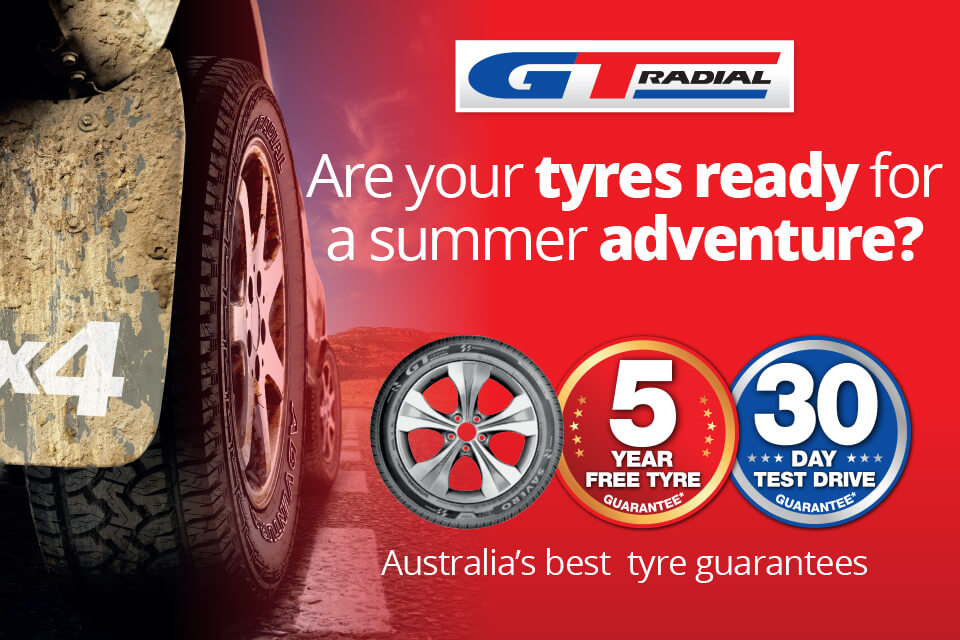 Award winning GT Radial tyres available at Tyreright