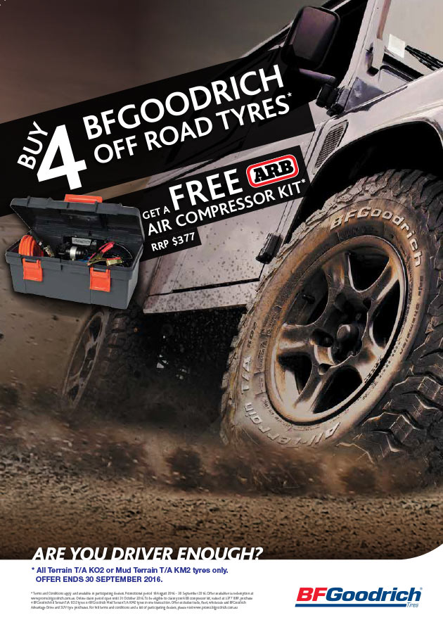 Tyreright - BFGoodrich Promotion