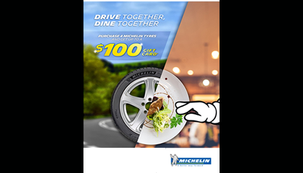 Michelin Drive Together Dine Together