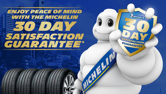 Michelin 30 Day Satisfaction Guarantee - Tyreright.com.au