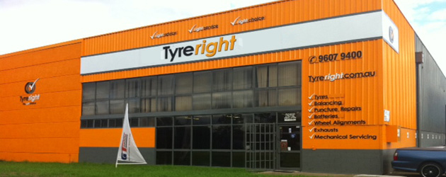Sample Tyreright Store